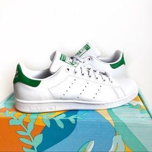 Adidas Stan Smith White & Green Men's Size 9.5